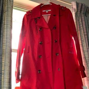 DKNY trench coat.